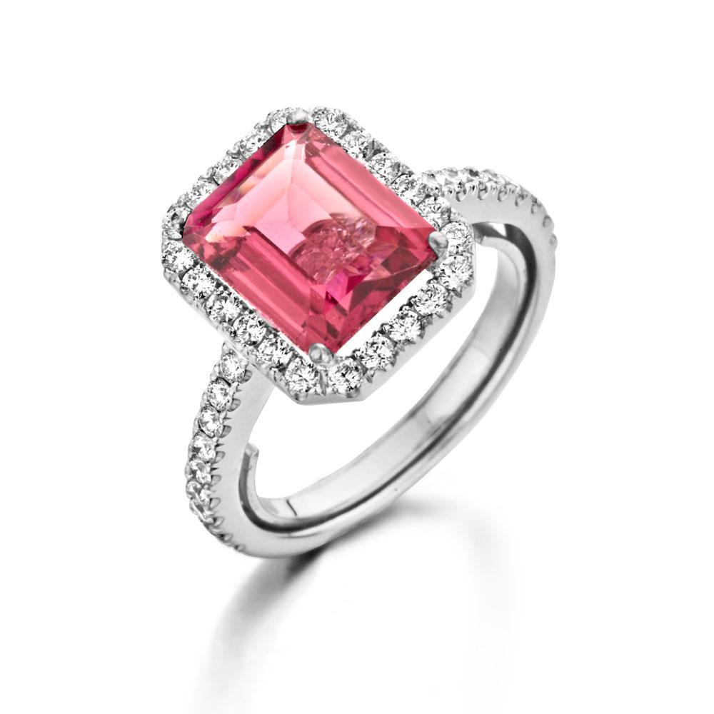 Roze tourmalijn