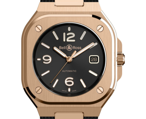 BR05 Automatic Gold