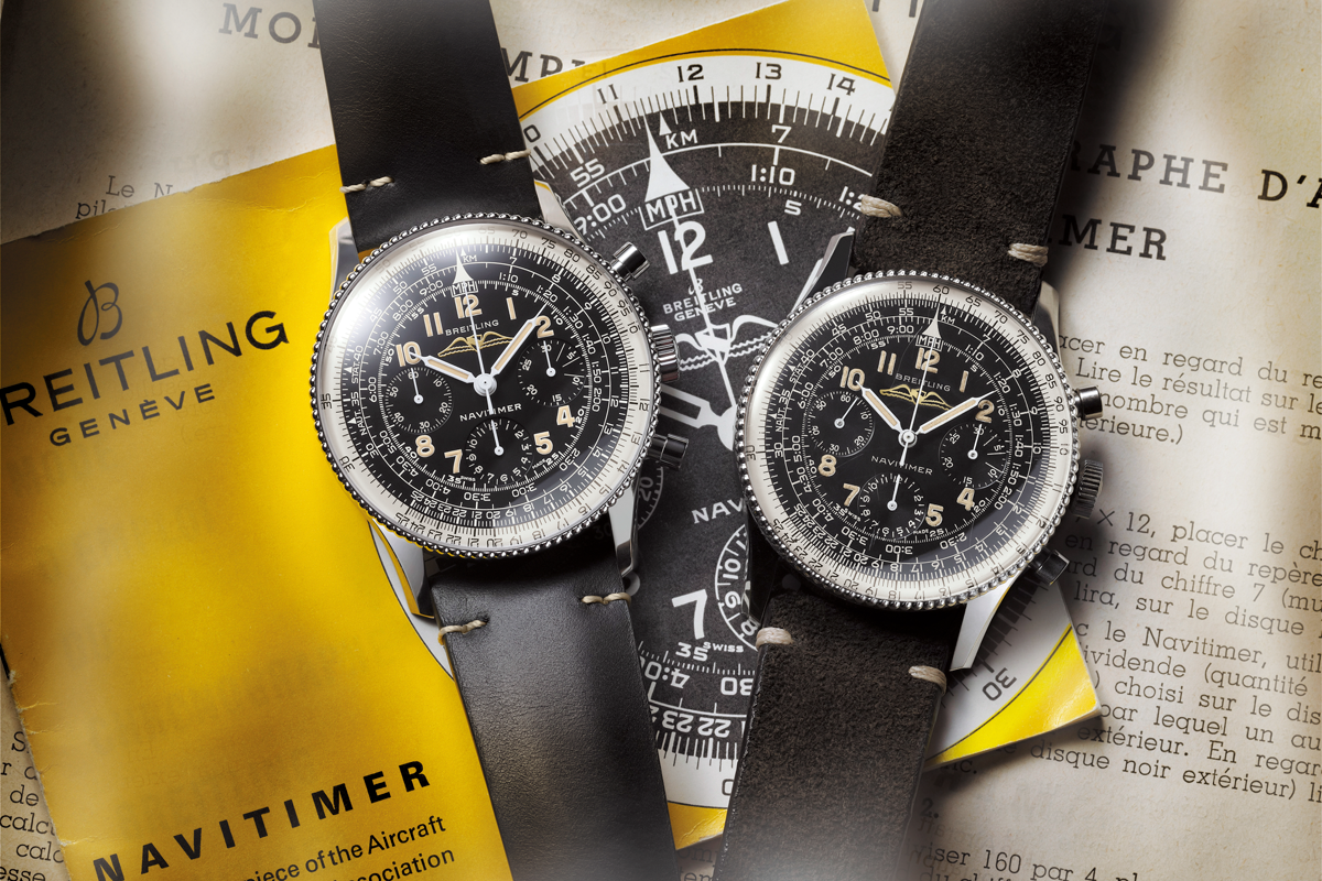 Breitling, re-edited classic