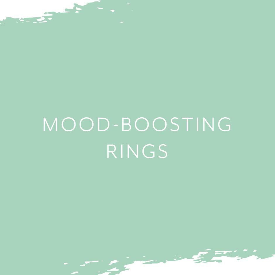 Mood boosting rings