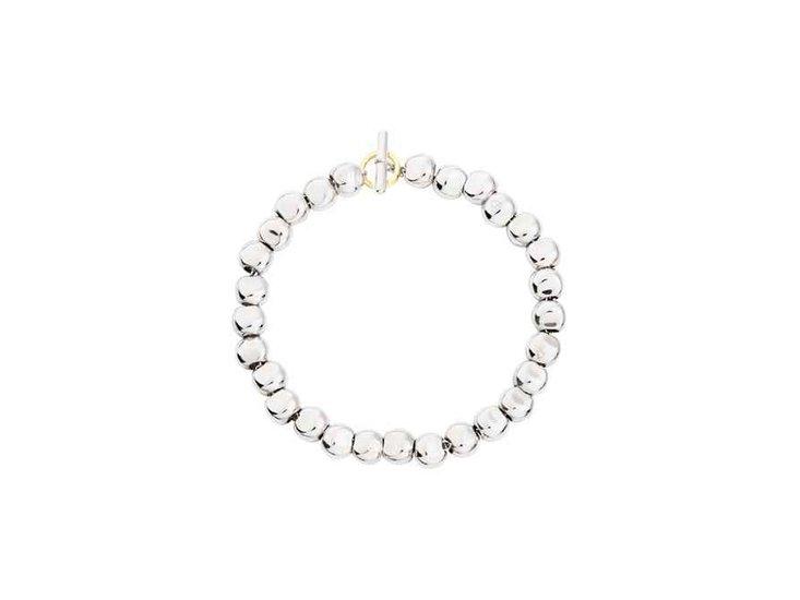 Dodo silver pepita bracelet